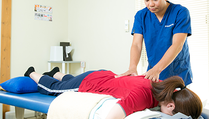 痛みの根本改善を図る筋肉治療
