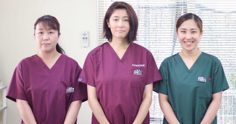 女性スタッフ在勤|北上市の赤坂鍼灸整骨院